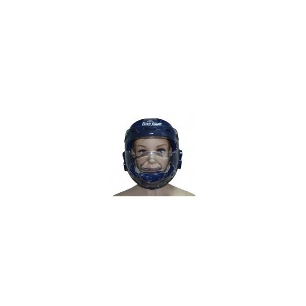 Защита головы (шлем-маска) (син) Т.М. DAEDO WTF