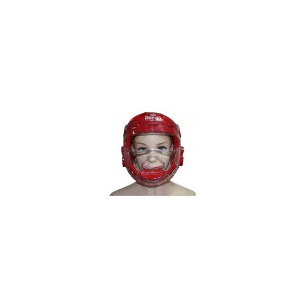 Шлем маска DAEDO WTF красная