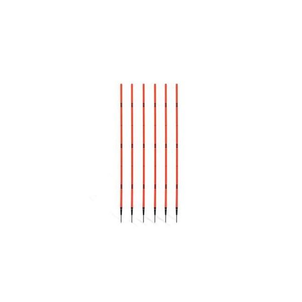 ADFB-10101 Стойки для дриблинга футболиста (набор 6 штук)