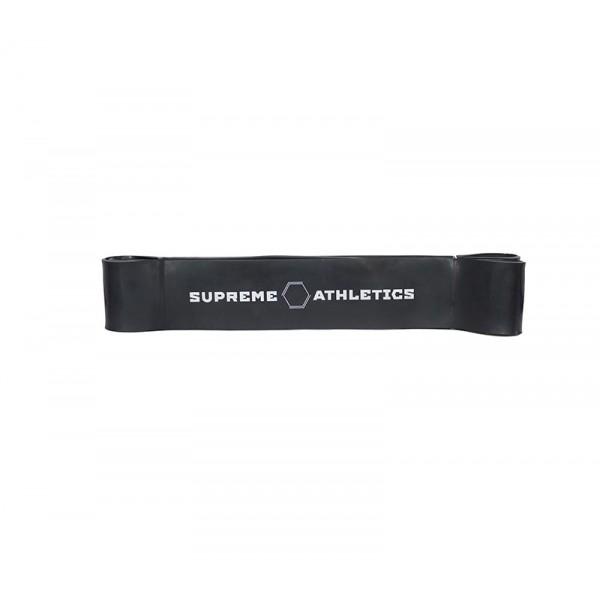 Черная резиновая петля жгут Atletics 35-90 кг.