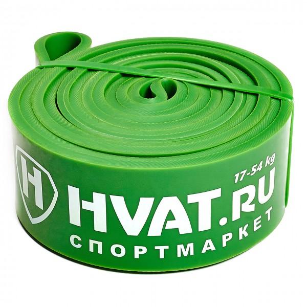 Эластичная резиновая лента зеленая (17-54кг)