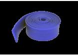 Резиновый эспандер ленточный латексный жгут синий 2,5 см  (10-25 кг)