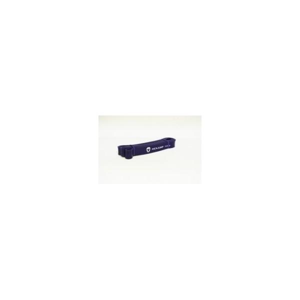 Эспандер петля резиновая  Kickjump Фиолетовая  (12-36 кг)