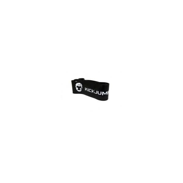 Латексная резина для турника Kickjump Черная  (36-91 кг)