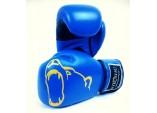 Боксерские перчатки Kiboshu Gym S cиние