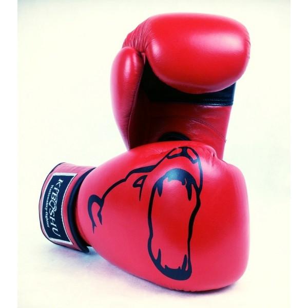 Боксерские перчатки Kiboshu Gym S красные