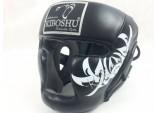 Шлем с защитой подбородка black