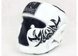 Шлем с защитой подбородка white