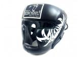 Шлем с защитой подбородка black к/з