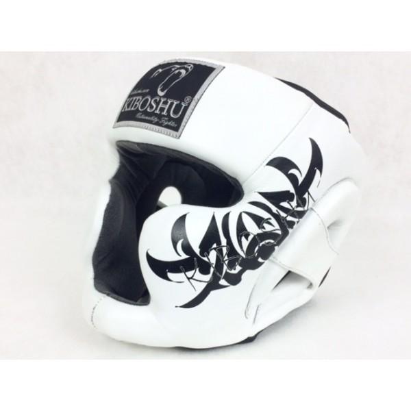 Шлем с защитой подбородка white к/з