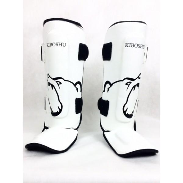 Защита голени и стопы Kiboshu белый