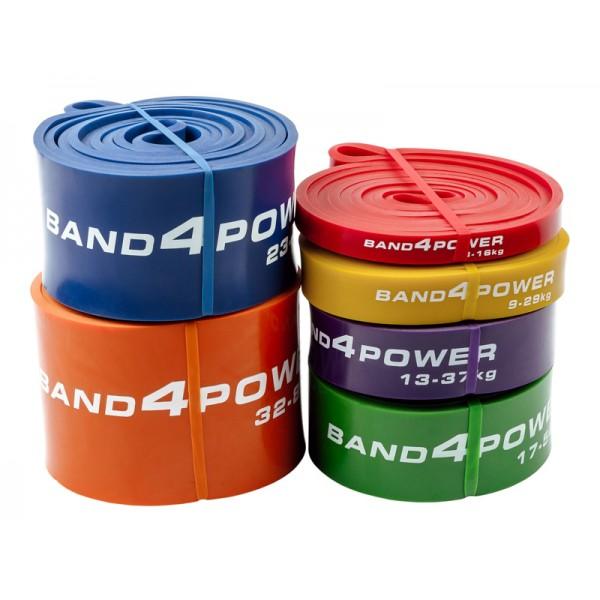 Комплект из 6 резиновых петель Band4power