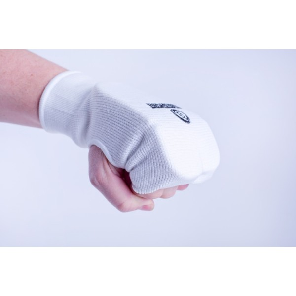 Накладки на руки текстиль, BS-з23, чулком до запястья, белые