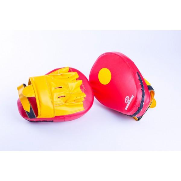 Лапы анатомические PU красно-желтые, BS-л1