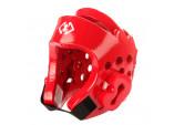 Шлем защитный Khan Extra красный для тхэквондо