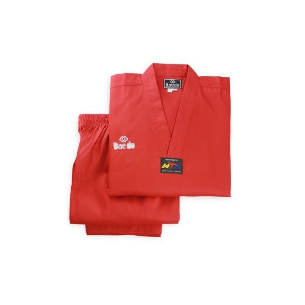 Форма для тхэквондо (добок) Daedo Seoul Red