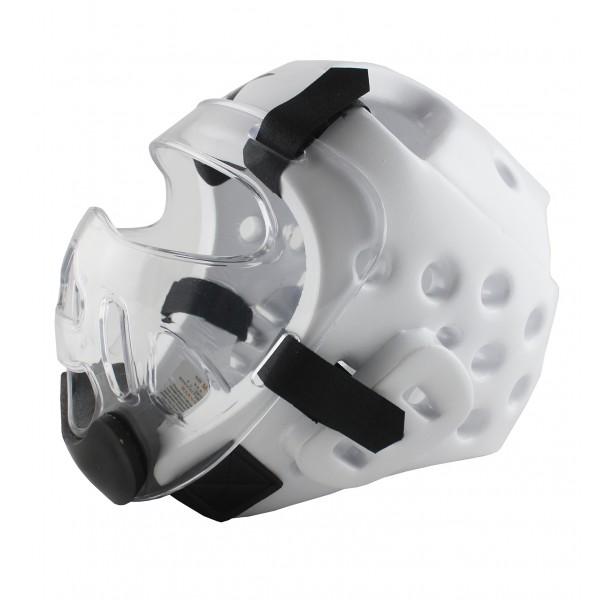 Шлем со съемной маской для тхэквондо, карате, кикбоксинга