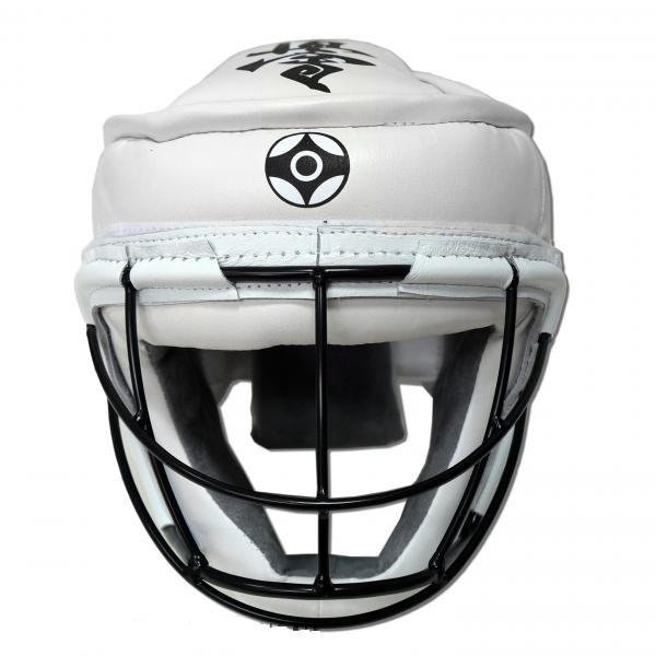 Шлем со съемной маской для карате кекусинкай Ray sport