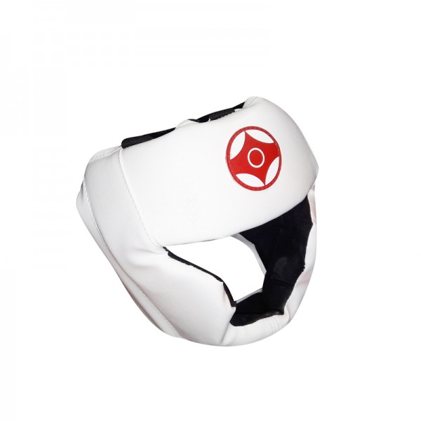 Шлем для карате с закрытым подбородком