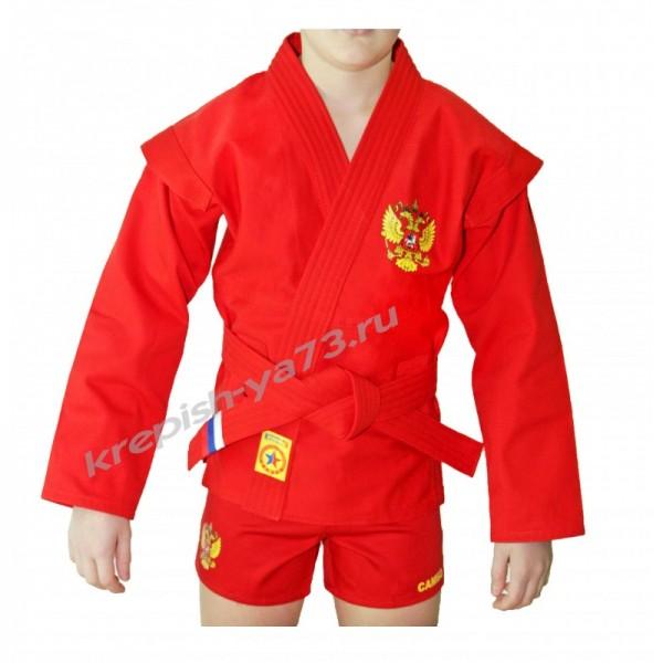 Куртка для самбо Крепыш (облегченная)