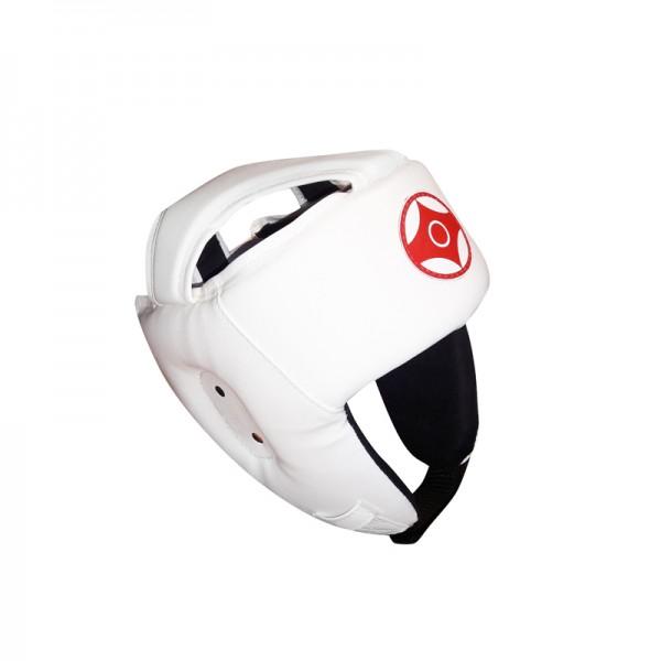 Шлем открытый для карате кеокушинкай (натуральная кожа)