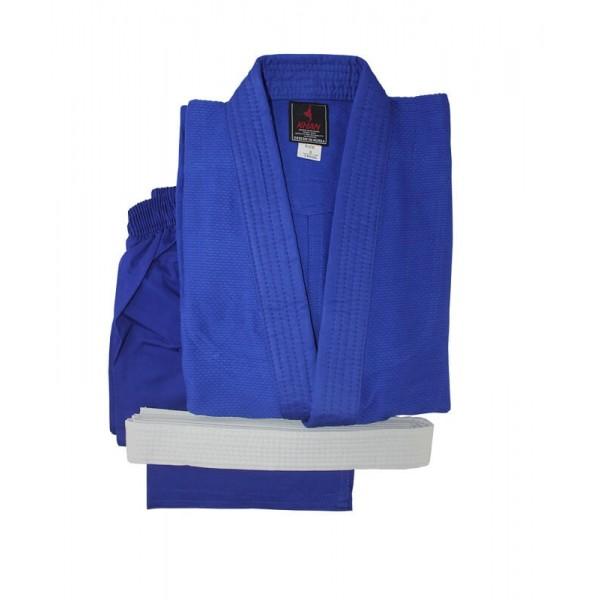 Форма для дзюдо (кимоно) Khan Club Blue с поясом