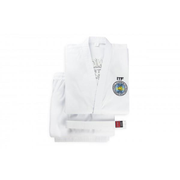 Форма для тхэквондо добок ITF KHAN White Belt CLUB Sr 170-200