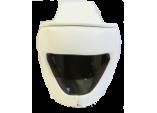 Шлем с защитой верха головы для карате кеокушинкай (натуральная кожа)