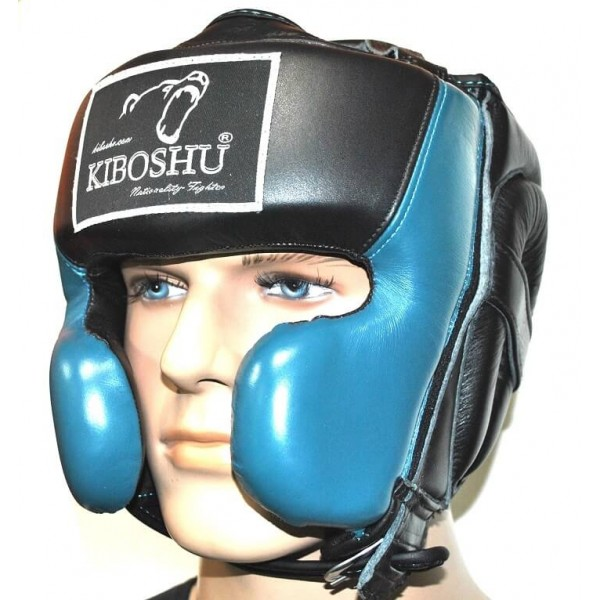 Шлем с защитой Kiboshu Prof3 Black