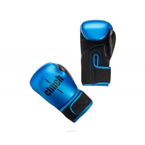 Перчатки боксерские Clinch Aero сине-черные