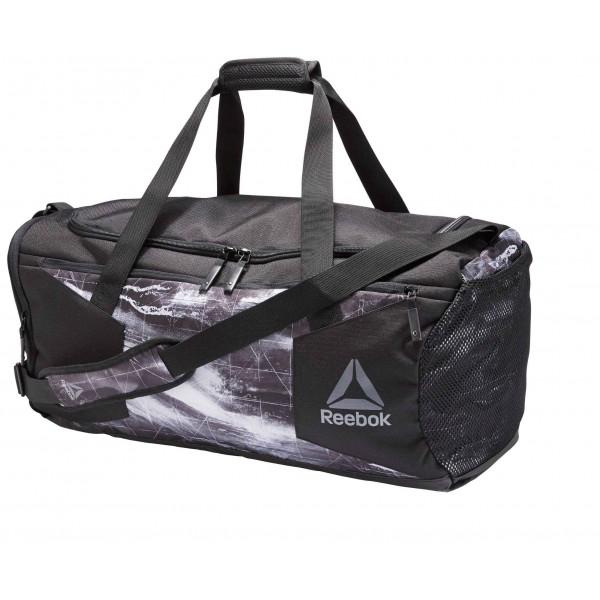 Сумка спортивная Combat Grip Bag M черно-серая BK2484