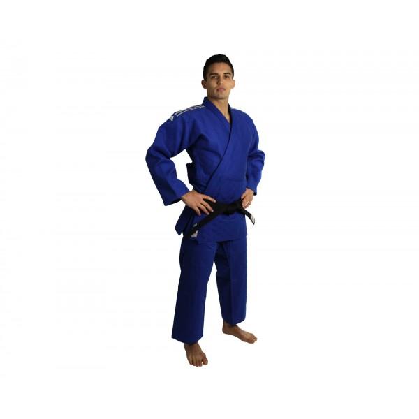 Кимоно для дзюдо Adidas Champion 2 IJF Slim Fit синее J-IJFSB