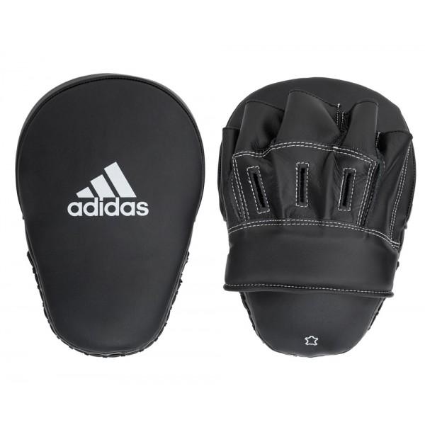 """Лапы Focus Mitt Leather 10"""" черные adiBAC012"""