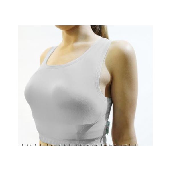 Защита на грудь сплошная женская для единоборств