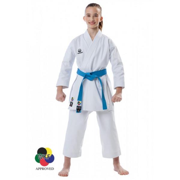Кимоно карате Tokaido Ката Мастер Junior WKF, 12 oz Slim Fit