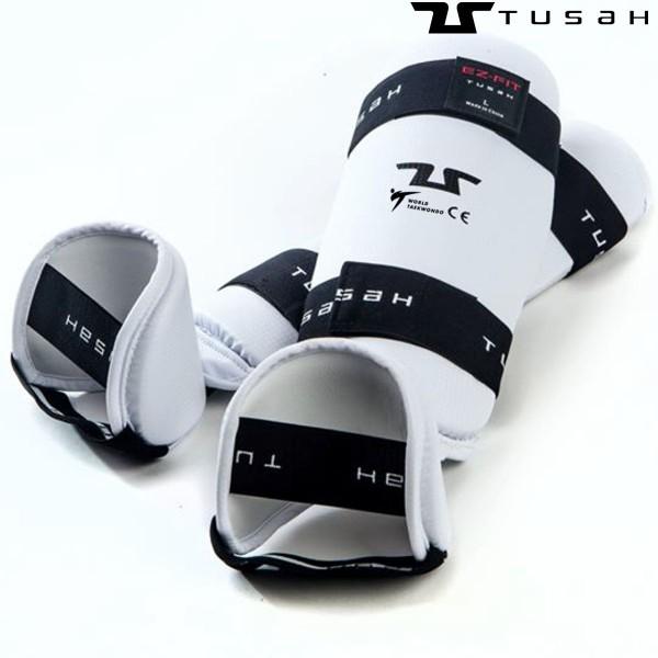 TUSAH Защита голени для тхэквондо WT aproved / Fit Shin + Instep Guard