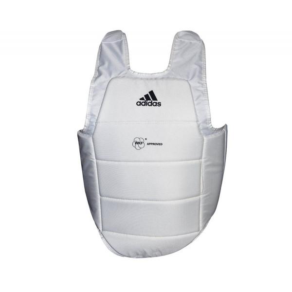 Защита корпуса Adidas CHEST GUARD WKF БЕЛАЯ