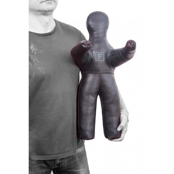 Манекен сувенирный «ММА» из натуральной кожи