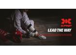 Защита стопы Clinch Safety Foot Kick синяя/красная