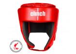 Шлем для кикбоксинга Clinch KICK красный