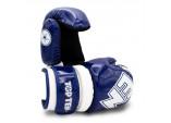 """Перчатки открытые  для тхэквондо и кикбоксинга  TOP TEN Pointfighter """"Glossy Block"""""""